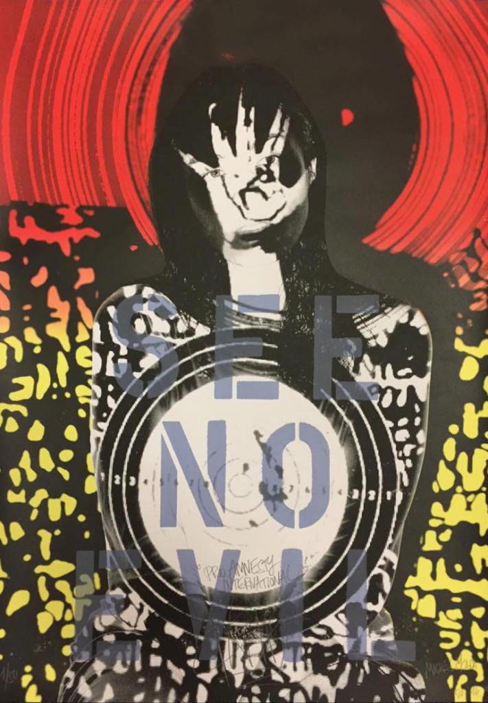současné umění - MICHAL ŠKAPA AKA TRON pro Art for Amnesty