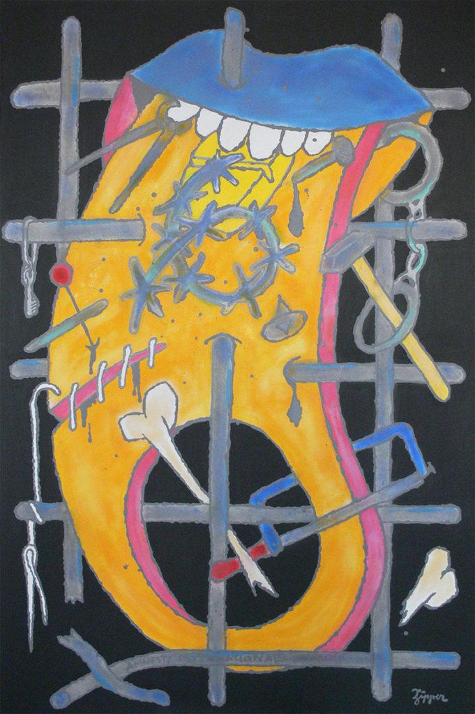 současné umění - Zipper - Art for Amnesty