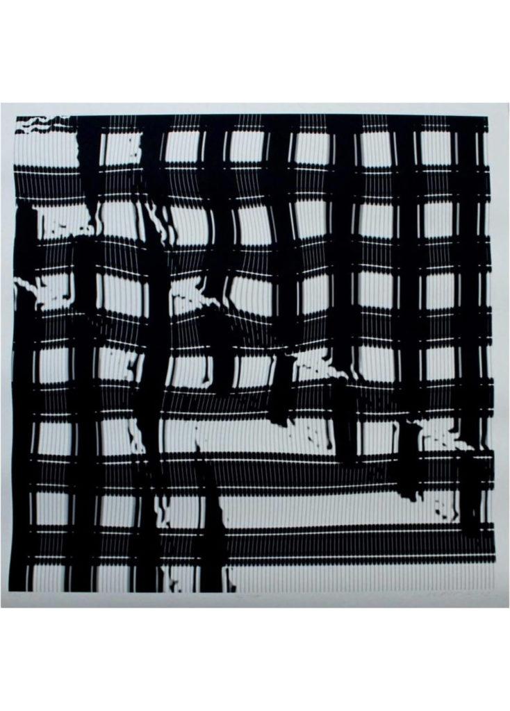Jaroslava Severová - Bez názvu, ink print na papíře
