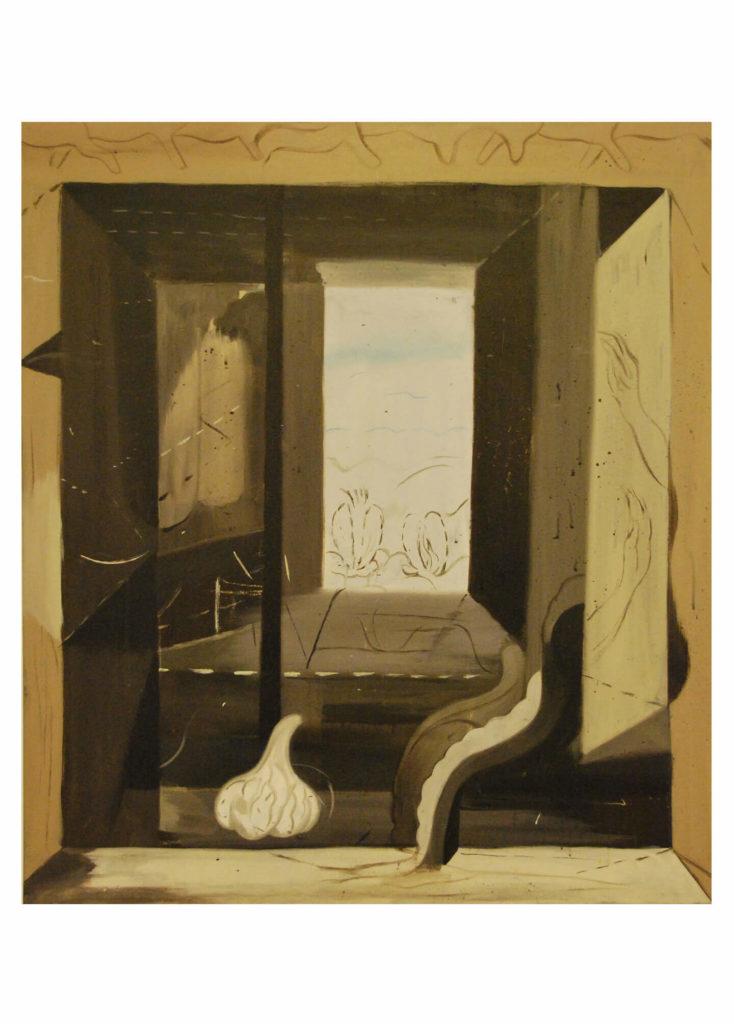 Jakub Tytykalo - Portál, akryl na plátně, 80 x 90 cm