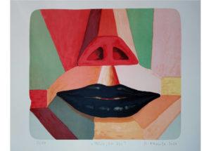 Roman Franta – Mluv, co jsi, litografie