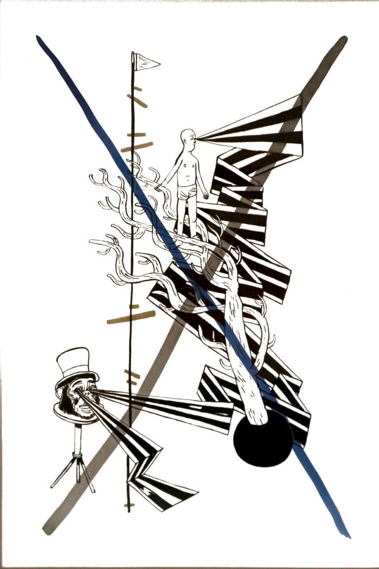 Ruční sítotisk od Davida Böhma a Jiřího Franty