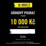Dárkový poukaz Art for Amnesty - 10 000 Kč