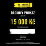 Dárkový poukaz Art for Amnesty - 15 000 Kč