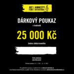 Dárkový poukaz Art for Amnesty - 25 000 Kč