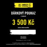 Dárkový poukaz Art for Amnesty - 3 500 Kč