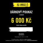 Dárkový poukaz Art for Amnesty - 6 000 Kč